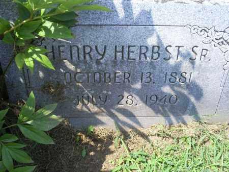 HERBST, HENRY SR. - Ross County, Ohio | HENRY SR. HERBST - Ohio Gravestone Photos