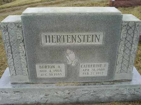 HERTENSTEIN, BURTON A. - Ross County, Ohio | BURTON A. HERTENSTEIN - Ohio Gravestone Photos