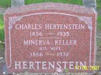 KELLER HERTENSTEIN, MINERVA - Ross County, Ohio | MINERVA KELLER HERTENSTEIN - Ohio Gravestone Photos