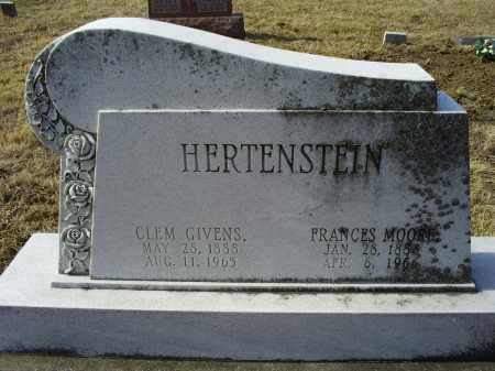 HERTENSTEIN, FRANCES - Ross County, Ohio | FRANCES HERTENSTEIN - Ohio Gravestone Photos