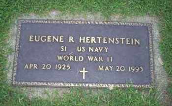 HERTENSTEIN, EUGENE R. - Ross County, Ohio | EUGENE R. HERTENSTEIN - Ohio Gravestone Photos