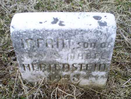 HERTENSTEIN, INFANT - Ross County, Ohio | INFANT HERTENSTEIN - Ohio Gravestone Photos