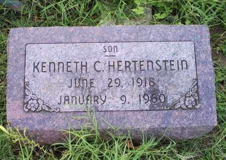 HERTENSTEIN, KENNETH C. - Ross County, Ohio | KENNETH C. HERTENSTEIN - Ohio Gravestone Photos