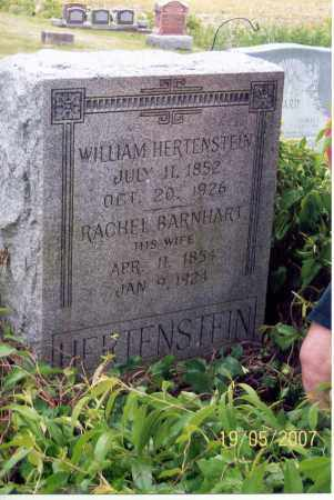 BARNHART HERTENSTEIN, RACHEL - Ross County, Ohio | RACHEL BARNHART HERTENSTEIN - Ohio Gravestone Photos