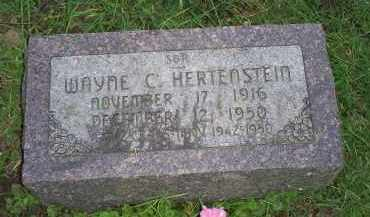 HERTENSTEIN, WAYNE C. - Ross County, Ohio | WAYNE C. HERTENSTEIN - Ohio Gravestone Photos
