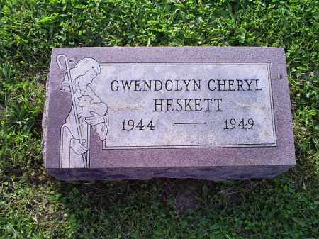 HESKETT, GWENDOLYN CHERYL - Ross County, Ohio | GWENDOLYN CHERYL HESKETT - Ohio Gravestone Photos