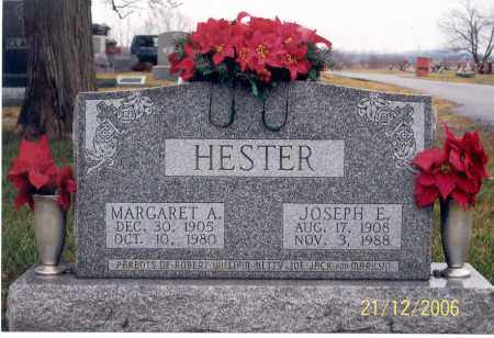 HESTER, MARGARET A. - Ross County, Ohio | MARGARET A. HESTER - Ohio Gravestone Photos