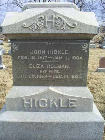 HICKLE, ELIZA - Ross County, Ohio | ELIZA HICKLE - Ohio Gravestone Photos