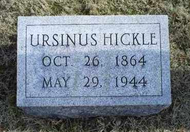 HICKLE, URSINUS - Ross County, Ohio | URSINUS HICKLE - Ohio Gravestone Photos