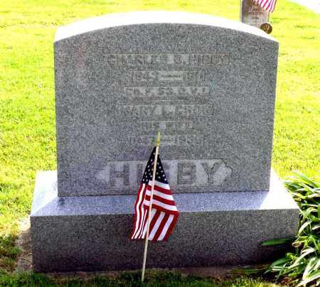 HIGBY, MARY L. - Ross County, Ohio | MARY L. HIGBY - Ohio Gravestone Photos