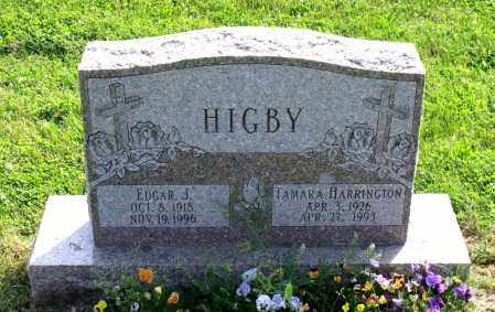 HIGBY, EDGAR JOHNSON - Ross County, Ohio | EDGAR JOHNSON HIGBY - Ohio Gravestone Photos