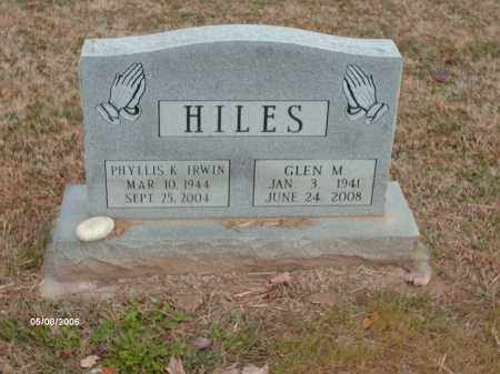 HILES, GLEN MICHAEL - Ross County, Ohio | GLEN MICHAEL HILES - Ohio Gravestone Photos