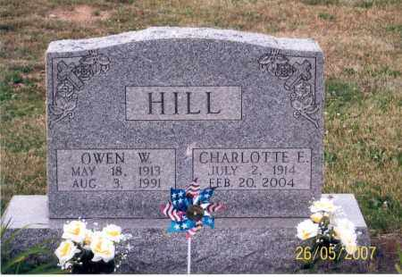 HILL, OWEN W. - Ross County, Ohio | OWEN W. HILL - Ohio Gravestone Photos
