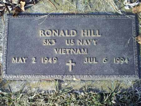 HILL, RONALD - Ross County, Ohio | RONALD HILL - Ohio Gravestone Photos