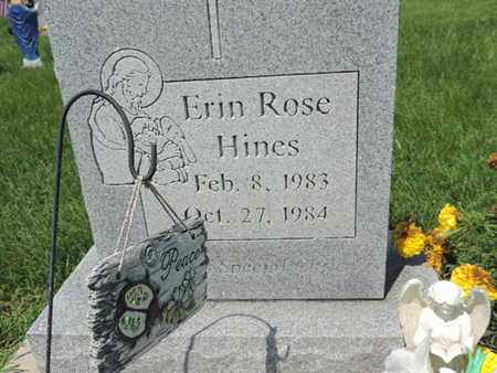 HINES, ERIN ROSE - Ross County, Ohio | ERIN ROSE HINES - Ohio Gravestone Photos