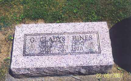 HINES, G. GLADYS - Ross County, Ohio | G. GLADYS HINES - Ohio Gravestone Photos