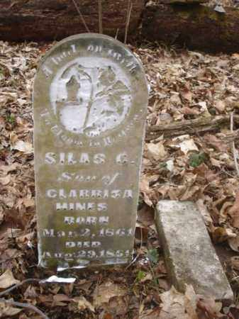 HINES, SILAS - Ross County, Ohio | SILAS HINES - Ohio Gravestone Photos