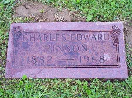 HINSON, CHARLES EDWARD - Ross County, Ohio | CHARLES EDWARD HINSON - Ohio Gravestone Photos