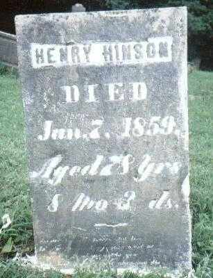 HINSON, HENRY HOLDER - Ross County, Ohio | HENRY HOLDER HINSON - Ohio Gravestone Photos