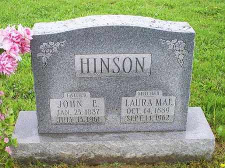 HINSON, JOHN E. - Ross County, Ohio | JOHN E. HINSON - Ohio Gravestone Photos