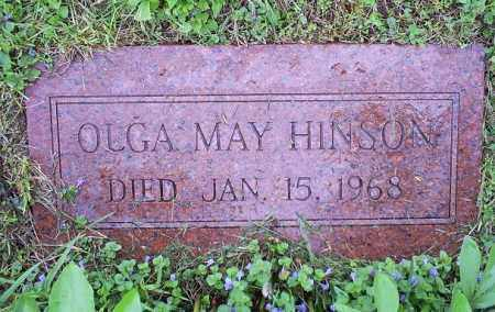 HINSON, OLGA MAY - Ross County, Ohio | OLGA MAY HINSON - Ohio Gravestone Photos