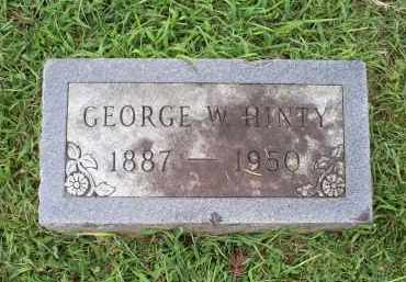 HINTY, GEORGE W. - Ross County, Ohio | GEORGE W. HINTY - Ohio Gravestone Photos