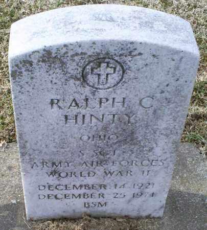 HINTY, RALPH C. - Ross County, Ohio   RALPH C. HINTY - Ohio Gravestone Photos