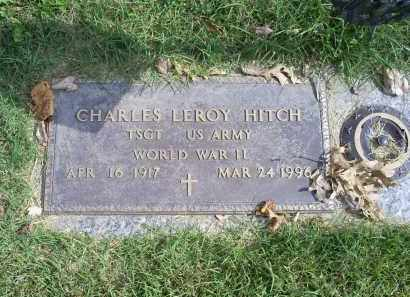 HITCH, CHARLES LEROY - Ross County, Ohio | CHARLES LEROY HITCH - Ohio Gravestone Photos