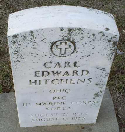 HITCHENS, CARL EDWARD - Ross County, Ohio | CARL EDWARD HITCHENS - Ohio Gravestone Photos