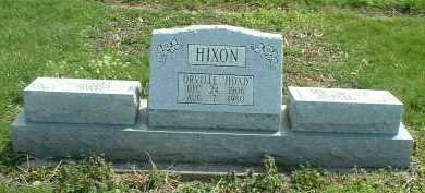 HIXON, ORVILLE - Ross County, Ohio | ORVILLE HIXON - Ohio Gravestone Photos