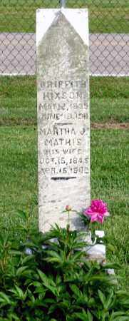 HIXSON, MARTHA J. - Ross County, Ohio | MARTHA J. HIXSON - Ohio Gravestone Photos