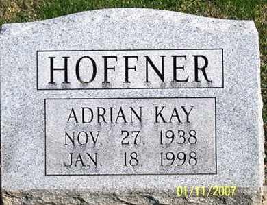 HOFFNER, ADRIAN KAY - Ross County, Ohio | ADRIAN KAY HOFFNER - Ohio Gravestone Photos