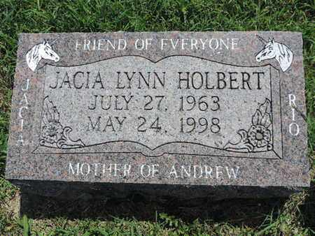 HOLBERT, JACIA LYNN - Ross County, Ohio | JACIA LYNN HOLBERT - Ohio Gravestone Photos