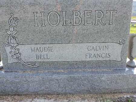 HOLBERT, CALVIN FRANCIS - Ross County, Ohio | CALVIN FRANCIS HOLBERT - Ohio Gravestone Photos