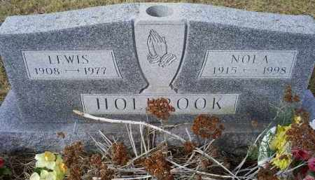 HOLBROOK, NOLA - Ross County, Ohio | NOLA HOLBROOK - Ohio Gravestone Photos
