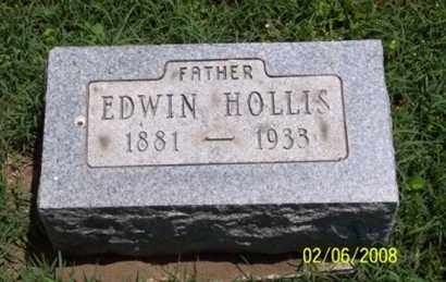 HOLLIS, EDWIN - Ross County, Ohio | EDWIN HOLLIS - Ohio Gravestone Photos