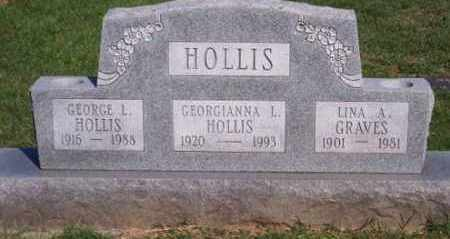 HOLLIS, GEORGIANNA L. - Ross County, Ohio | GEORGIANNA L. HOLLIS - Ohio Gravestone Photos