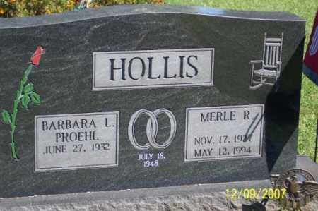 HOLLIS, MERLE R. - Ross County, Ohio | MERLE R. HOLLIS - Ohio Gravestone Photos