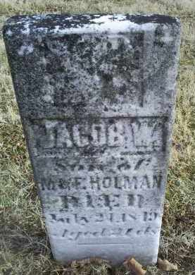 HOLMAN, JACOB W. - Ross County, Ohio | JACOB W. HOLMAN - Ohio Gravestone Photos