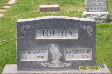 HOLTON, MARCELLA E. - Ross County, Ohio | MARCELLA E. HOLTON - Ohio Gravestone Photos