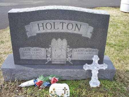 HOLTON, GLEN JAMES - Ross County, Ohio | GLEN JAMES HOLTON - Ohio Gravestone Photos
