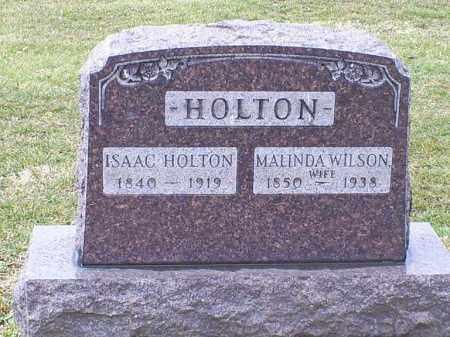 HOLTON, ISAAC - Ross County, Ohio | ISAAC HOLTON - Ohio Gravestone Photos