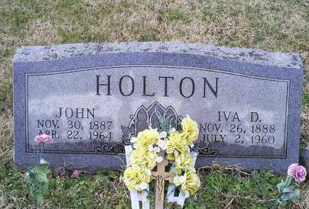 HOLTON, IVA D. - Ross County, Ohio | IVA D. HOLTON - Ohio Gravestone Photos