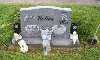 HOLTON, LESLIE H. - Ross County, Ohio | LESLIE H. HOLTON - Ohio Gravestone Photos
