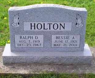 HOLTON, BESSIE A. - Ross County, Ohio | BESSIE A. HOLTON - Ohio Gravestone Photos