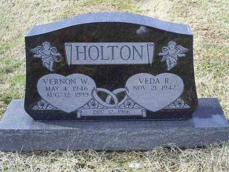 HOLTON, VERNON W. - Ross County, Ohio | VERNON W. HOLTON - Ohio Gravestone Photos
