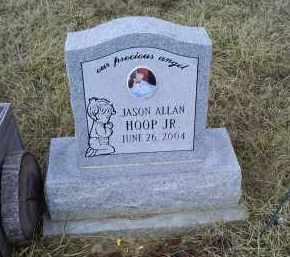 HOOP, JASON ALAN JR. - Ross County, Ohio | JASON ALAN JR. HOOP - Ohio Gravestone Photos