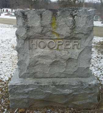 HOOPER, MONUMENT - Ross County, Ohio   MONUMENT HOOPER - Ohio Gravestone Photos