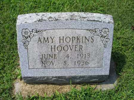 HOPKINS HOOVER, AMY - Ross County, Ohio | AMY HOPKINS HOOVER - Ohio Gravestone Photos