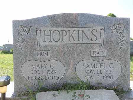 HOPKINS, SAMUEL C. - Ross County, Ohio | SAMUEL C. HOPKINS - Ohio Gravestone Photos